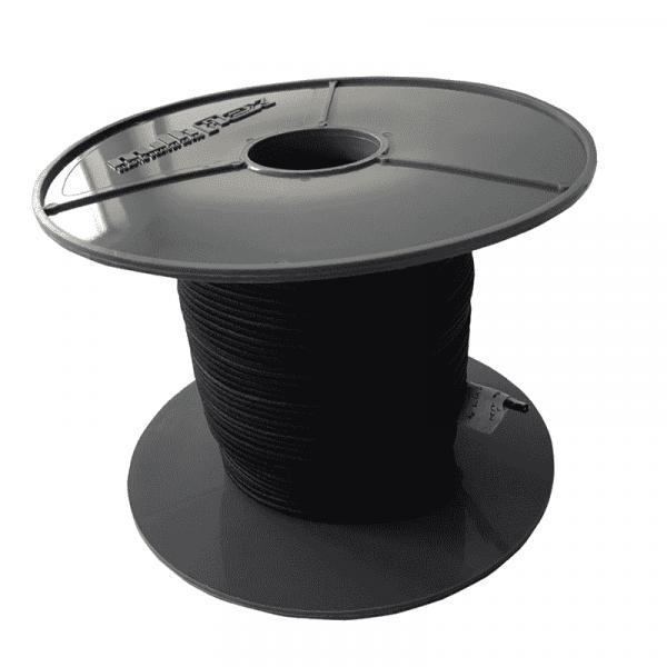 Expanderseil 2mm Schwarz 100 Meter - Multiflex Polypropylen