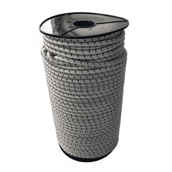 Expanderseil 8mm Schwarz-Weiß gefleckt - 100 Meter - Monoflex Polypropylen