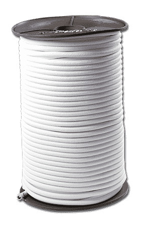 Expanderseil 5mm weiß | Spannseil | Spanngummi für Abdeckplane | Anhängeil | Dehnband |