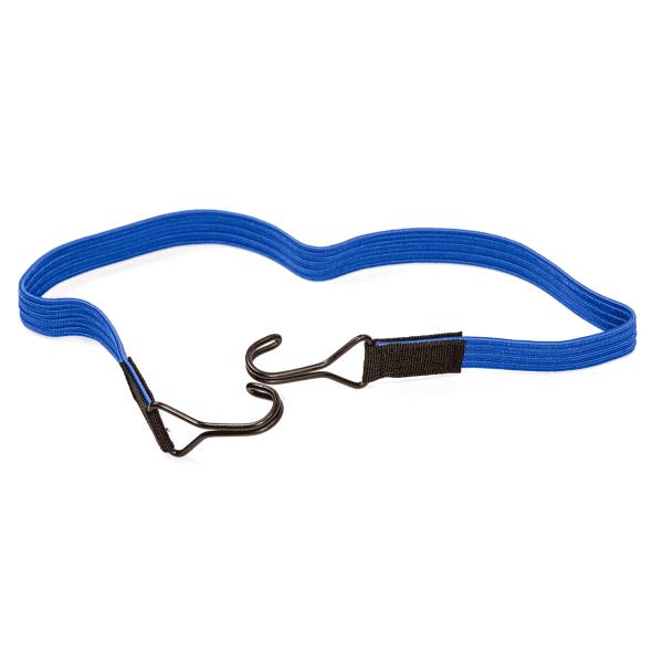 Elastischer Flachbandgummi mit 2 Doppelhaken | Flachbandgummi | Flachgummi | Flachband elastisch |